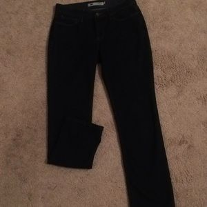 Levi's 525 denim jeans, size 6 short